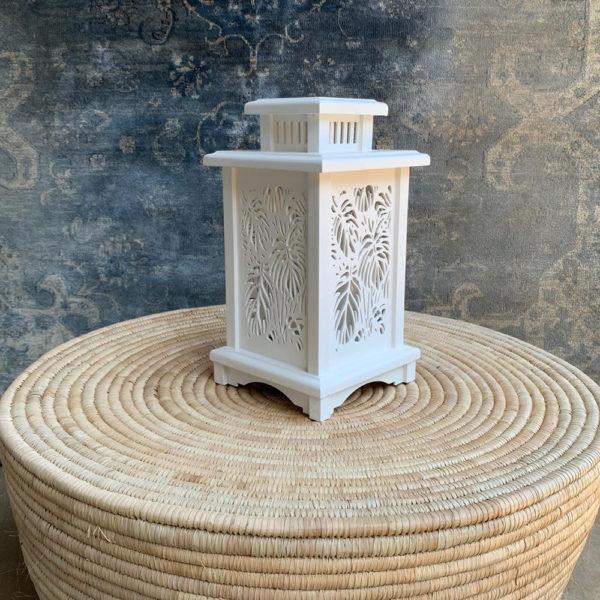 Wooden Battery Operted Lantern